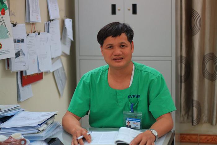TS.BS Lê Minh Trác - Giám đốc Trung tâm Chăm sóc và Điều trị Sơ Sinh BV phụ sản TW giải đáp thắc mắc về bệnh miệng nấm miệng ở trẻ sơ sinh