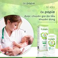Chuyên gia khuyên mẹ dùng nước tắm gội thảo dược Dr.papie khi bé bị hăm tã