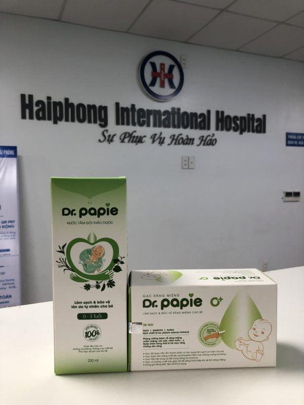 Combo sản phẩm Dr.papie cao cấp dành cho trẻ em