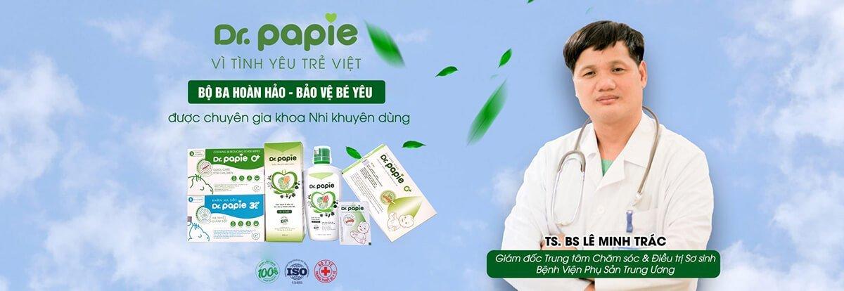 Sản phẩm Dr Papie được chuyên gia khoa nhi khuyên dùng