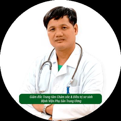 Bác sĩ Lê Minh Trác - Giám đốc Trung tâm Chăm sóc và Điều trị Sơ Sinh – Bệnh viện phụ sản Trung Ương