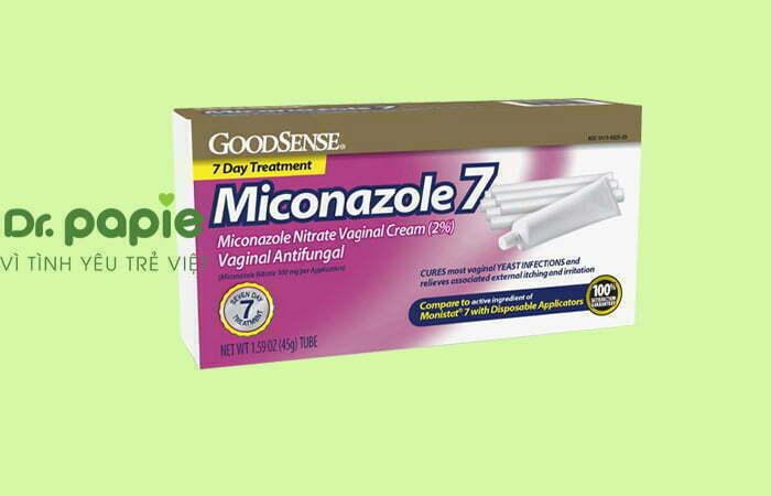 Thuốc chữa nấm miệng ở trẻ em Miconazole