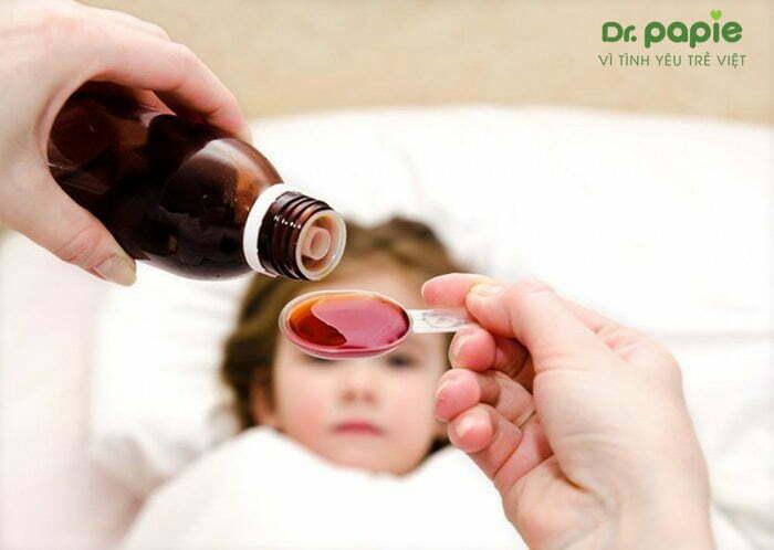 cách điều trị sốt siêu vi ở trẻ em bằng thuốc