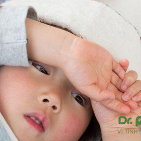 Hạ sốt cho trẻ sốt mọc răng