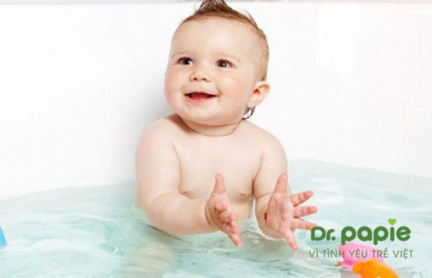 Sữa tắm chống cảm mạo cho bé