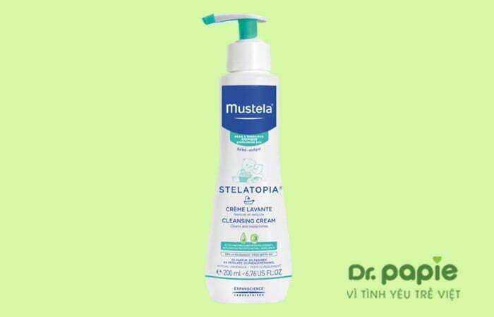 Sữa tắm trị chàm cho bé Mustela