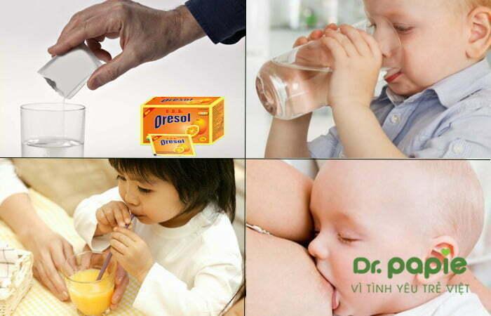 4 cách bù nước dùng cho trẻ bị sốt phát ban