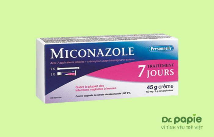 Thuốc trị nấm lưỡi Miconazole