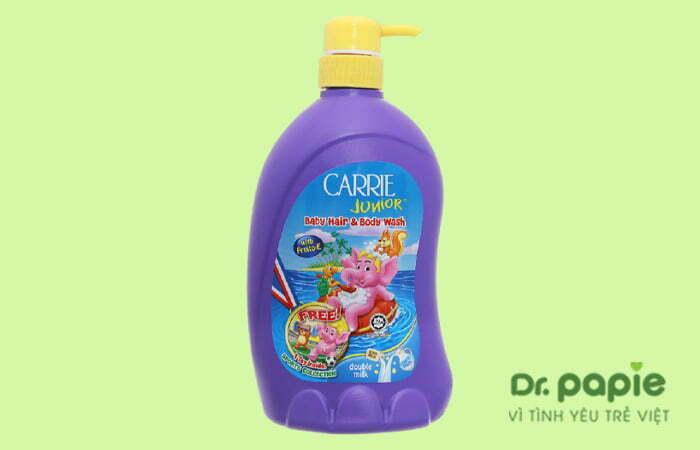 Sữa tắm cho bé Carrie Junior