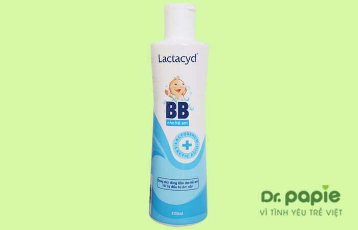 Sữa tắm cho bé Lactacyd BB