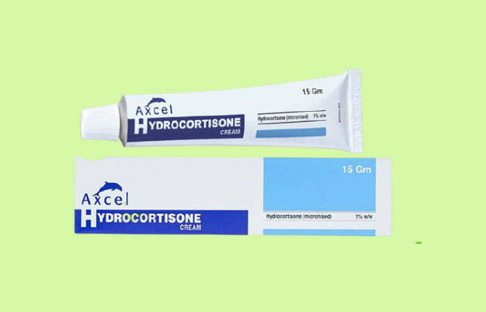 Chữa chàm sữa cho trẻ bằng thuốc chống viêm Corticoid cho bé sơ sinh bị chàm sữa