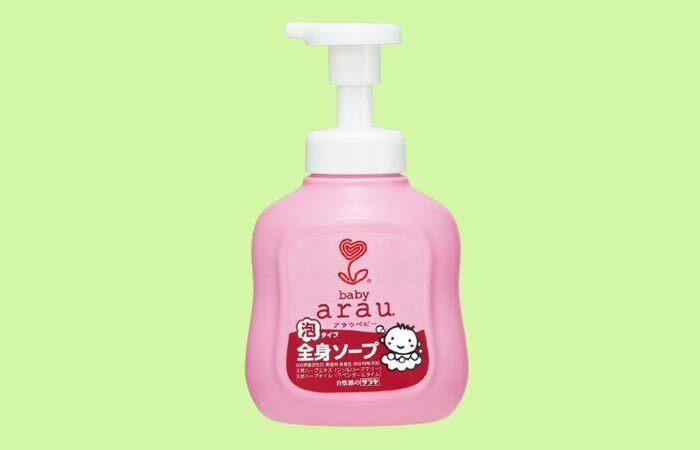 Sữa tắm diệt khuẩn cho bé Arau Baby