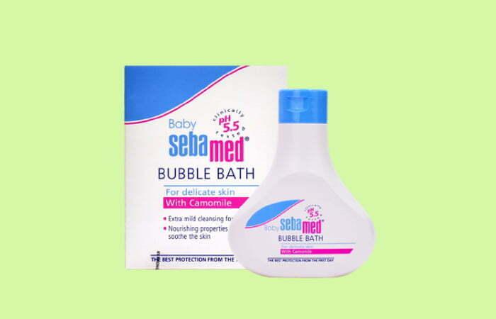 Sữa Tắm Tạo Bọt Dịu Nhẹ Cho Bé Sebamed Baby Bubble Bath