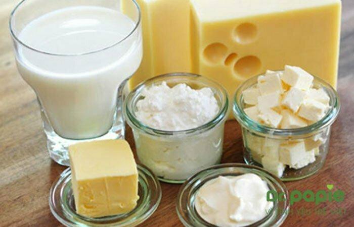 Các chế phẩm từ sữa không tốt cho mẹ có con bị chàm sữa