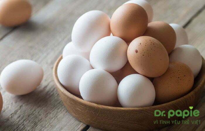 Trứng không tốt cho mẹ có con bị chàm sữa