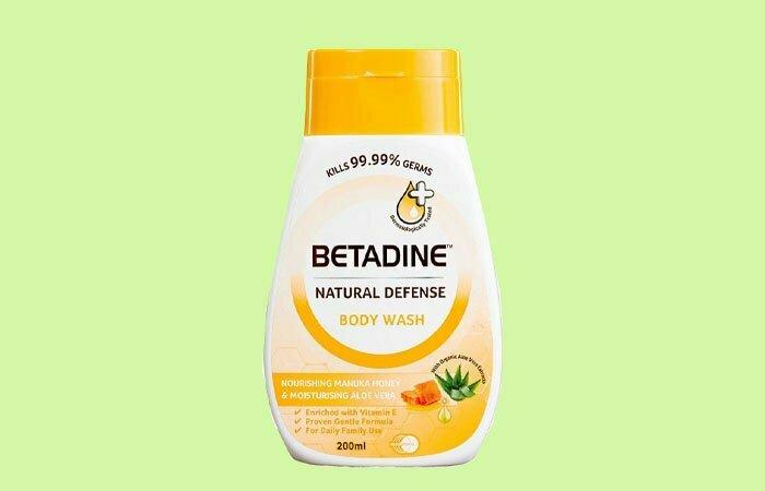 Sữa tắm diệt khuẩn cho bé Betadine