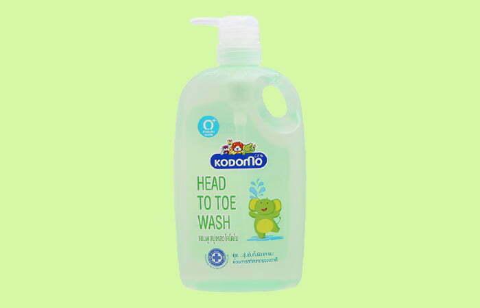 Sữa tắm cho bé gái Kodomo