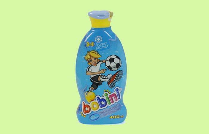Sữa tắm gội tạo bọt 3in1 Bobini