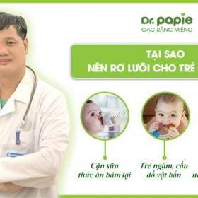 TS.BS Lê Minh Trác chia sẻ 3 lý do nên rơ lưỡi cho trẻ sơ sinh